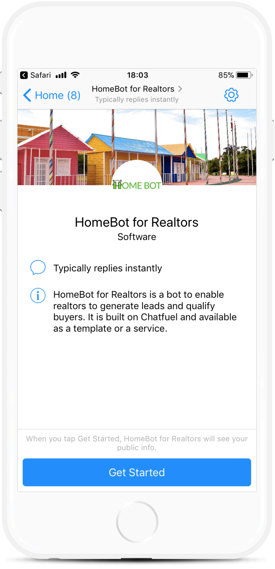 Lead Generation Bot for Realtors Dealing in Homes