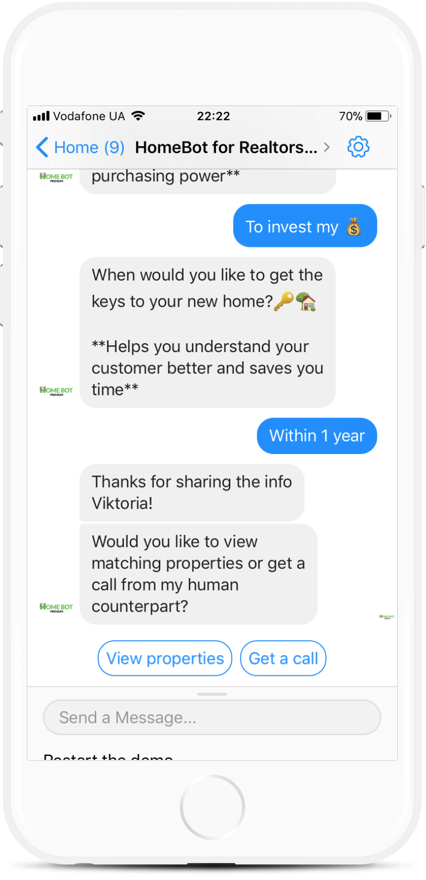 All-in-one bot for Real Estate Companies for $99