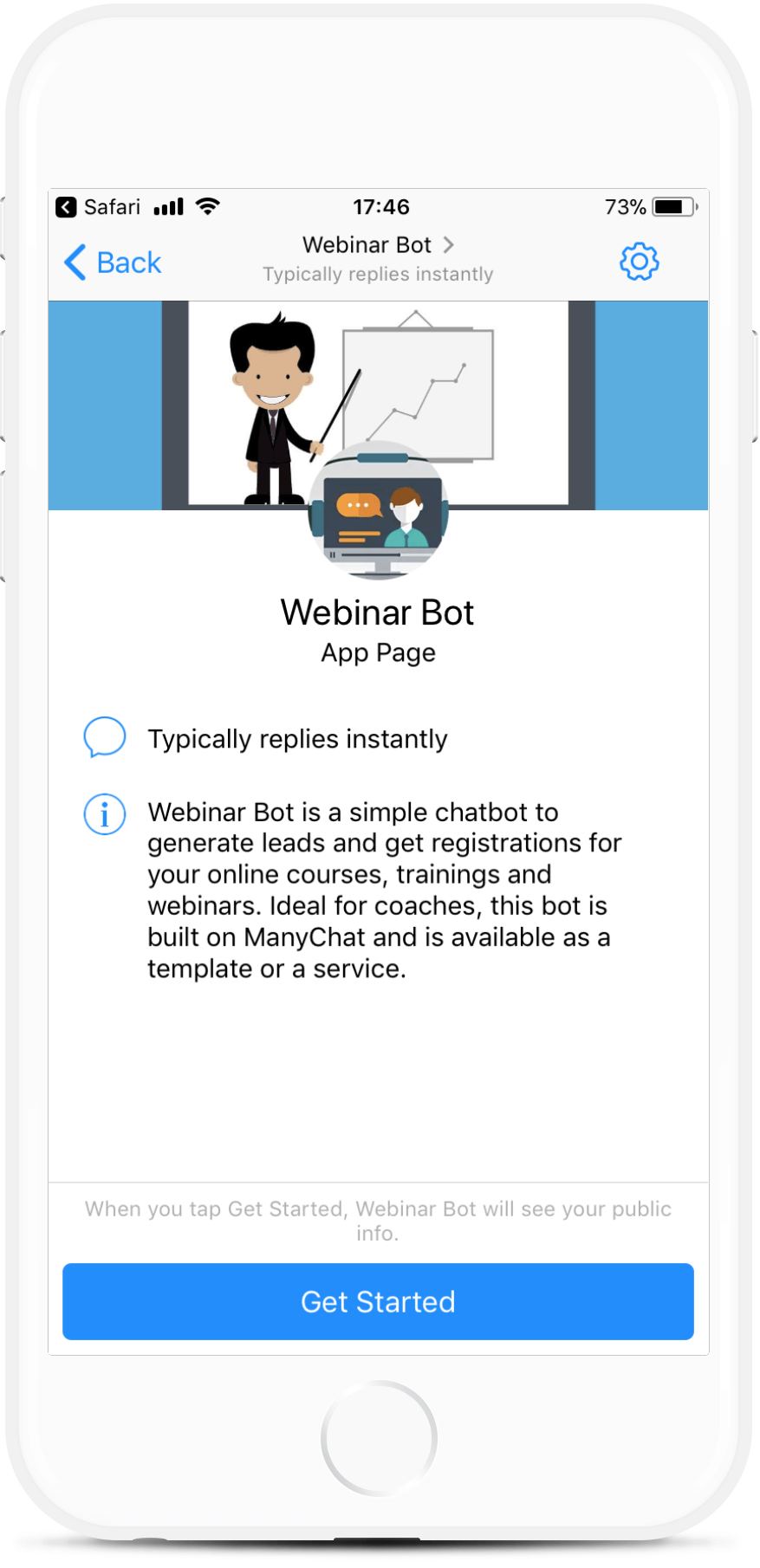 Webinar Registrations Bot Template