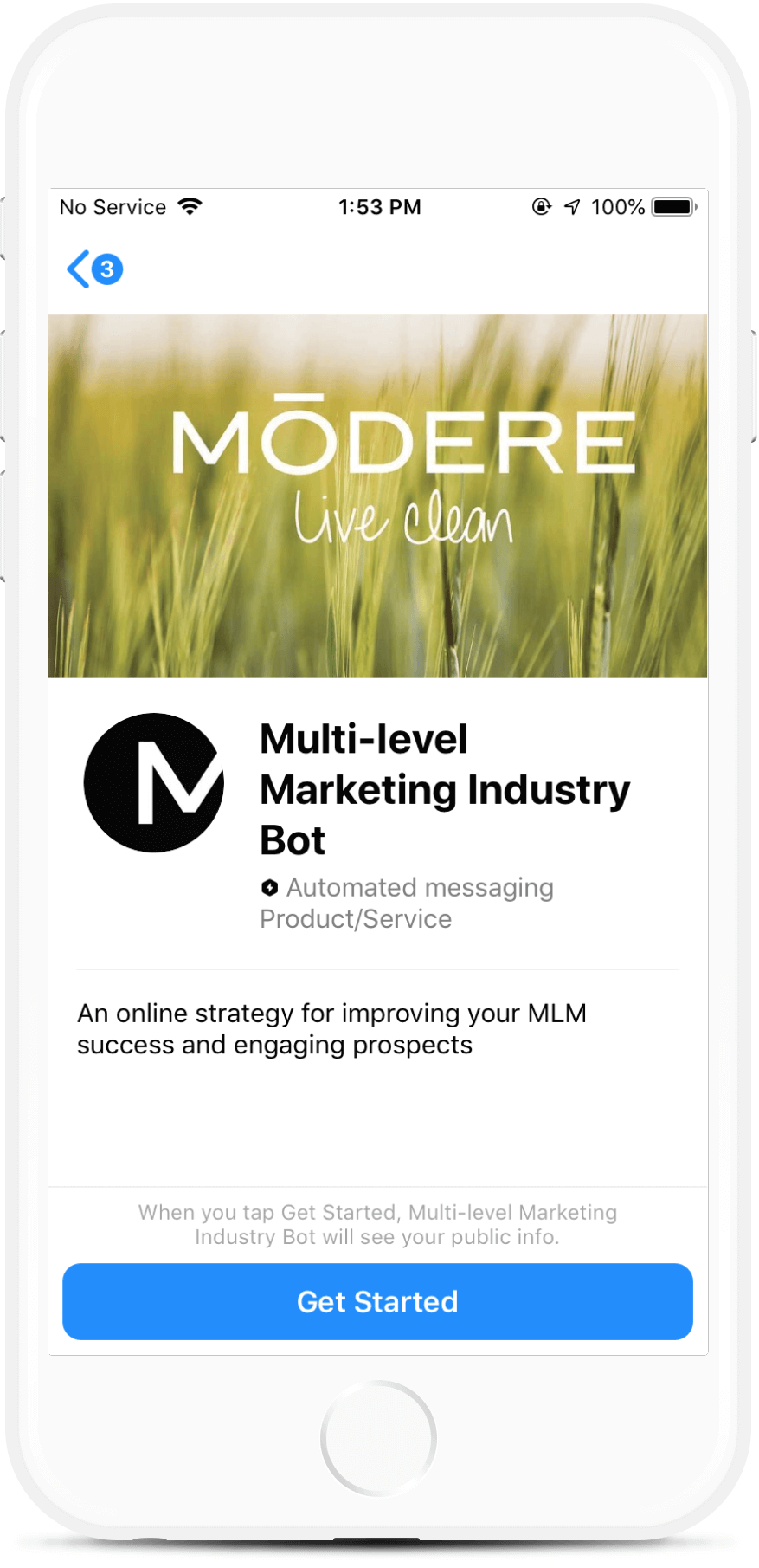 Multi-Level Marketing Industry Bot