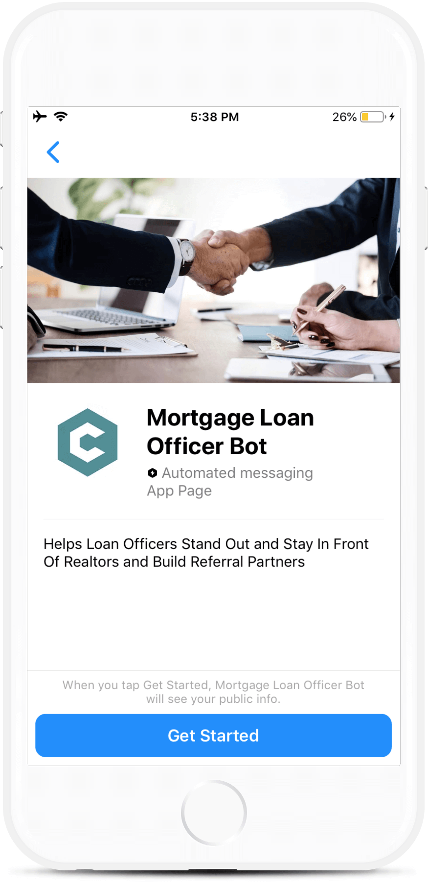 Mortgage Loan Officer Bot - Botmakers