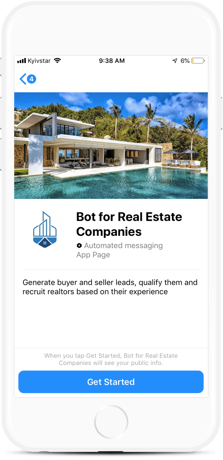 All-in-One Bot for Real Estate Companies