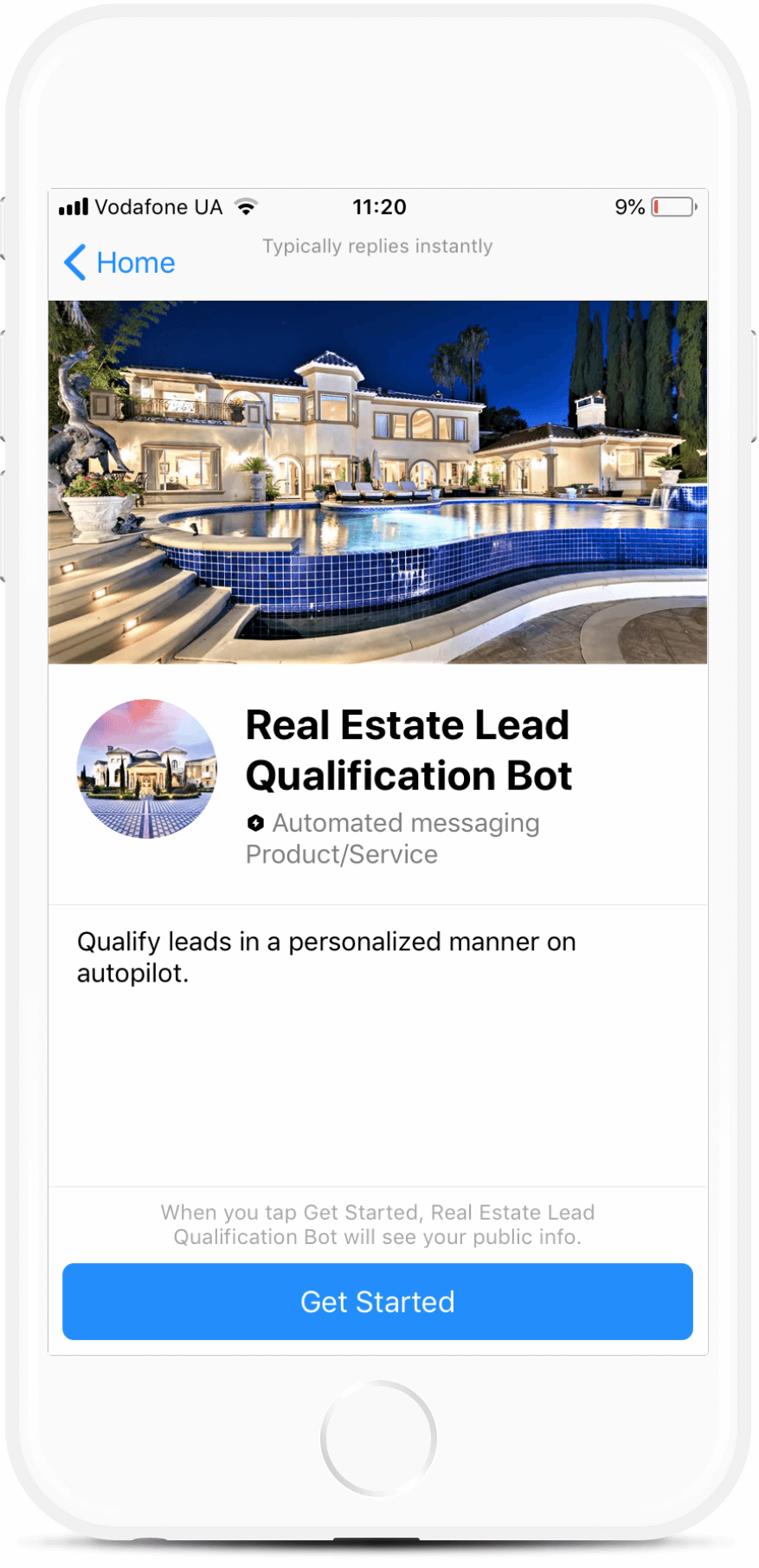 Real Estate Lead Qualification Bot Template