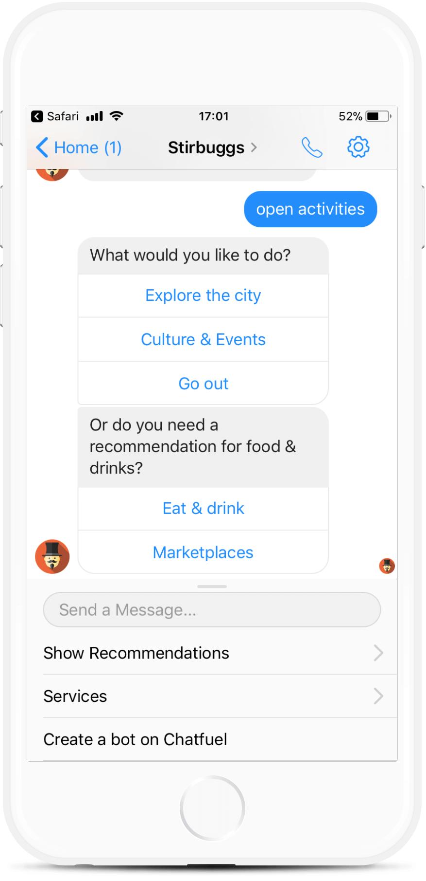 Messenger Bot for Hotels, Hostels, BnBs for $79   #messenger #bottemplates #bots #chatbots #aibots #fbmessenger #botmakers