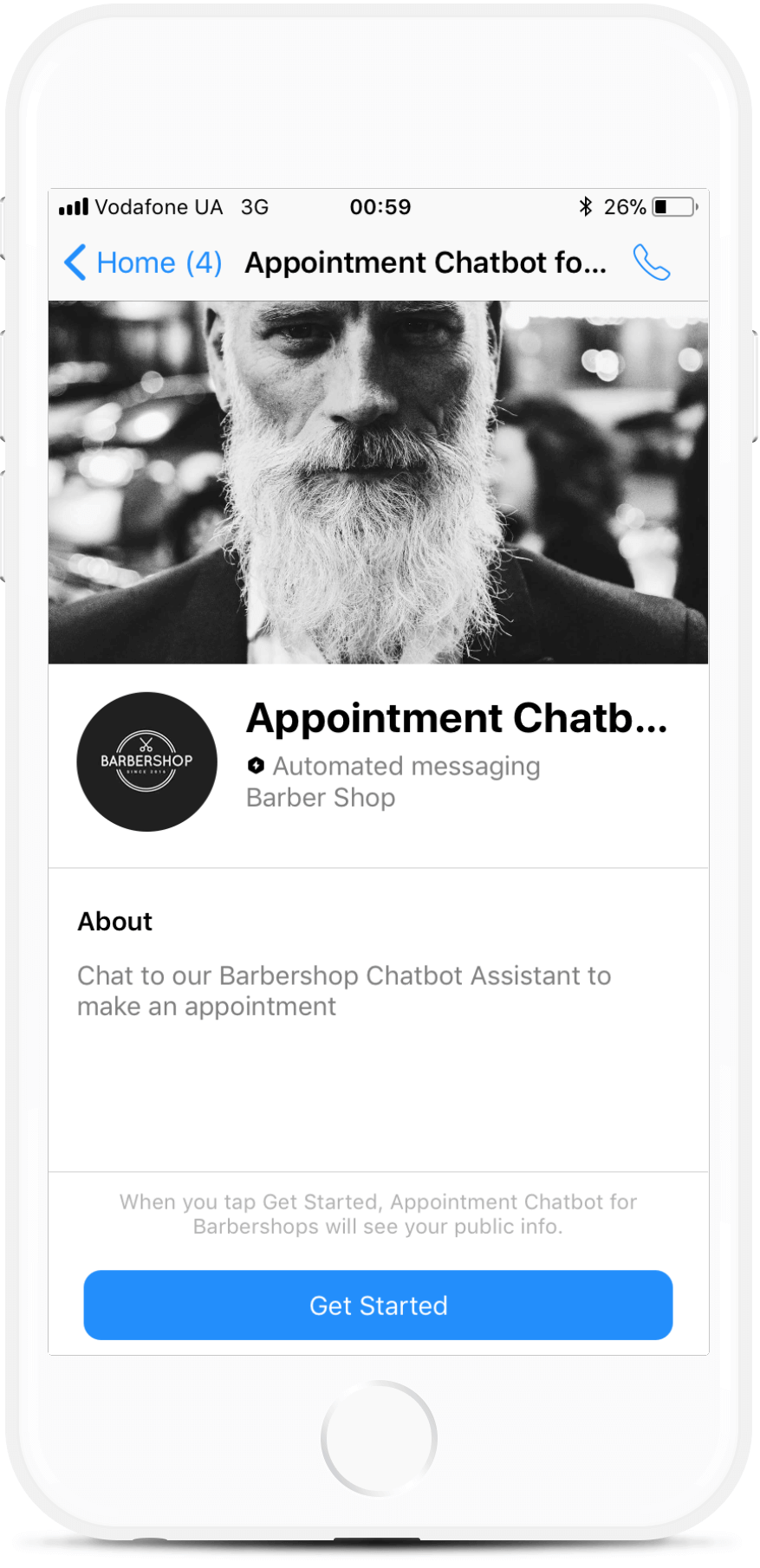 Messenger Chatbot Template for Personal Coaches