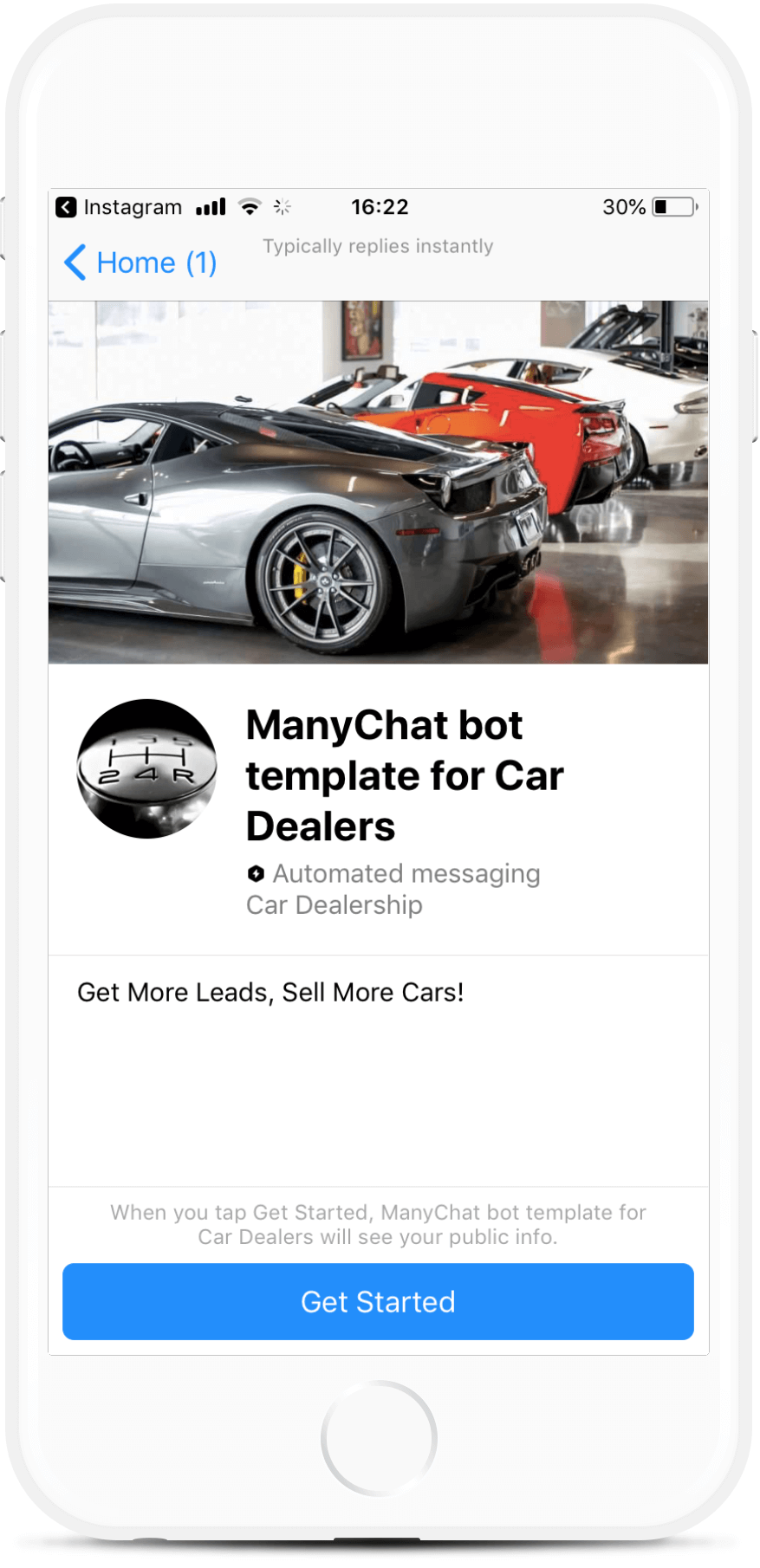 Messenger Bot for Car Dealerships