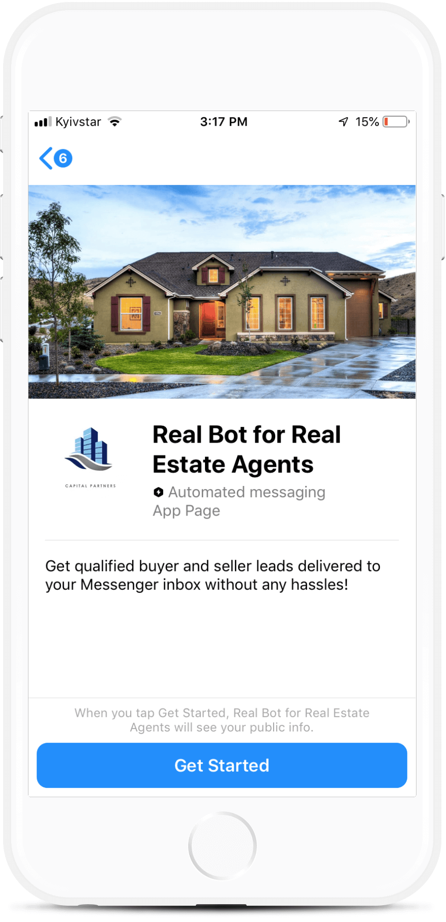 Real-E Bot for Real Estate Agents