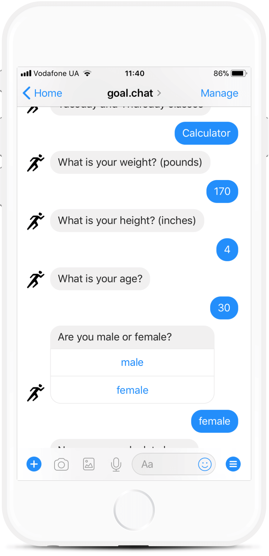 Messenger Chatbot for Fitness Coaches for $49   #messenger #bottemplates #bots #chatbots #aibots #fbmessenger #botmakers
