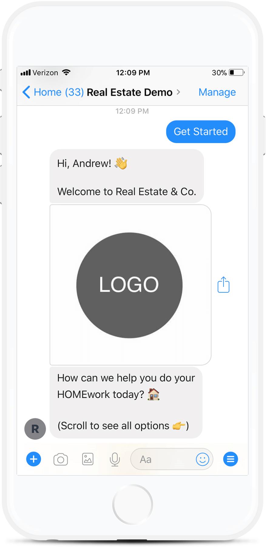 Messenger Chatbot for Real Estate Agents for $69   #messenger #bottemplates #bots #chatbots #aibots #fbmessenger #botmakers