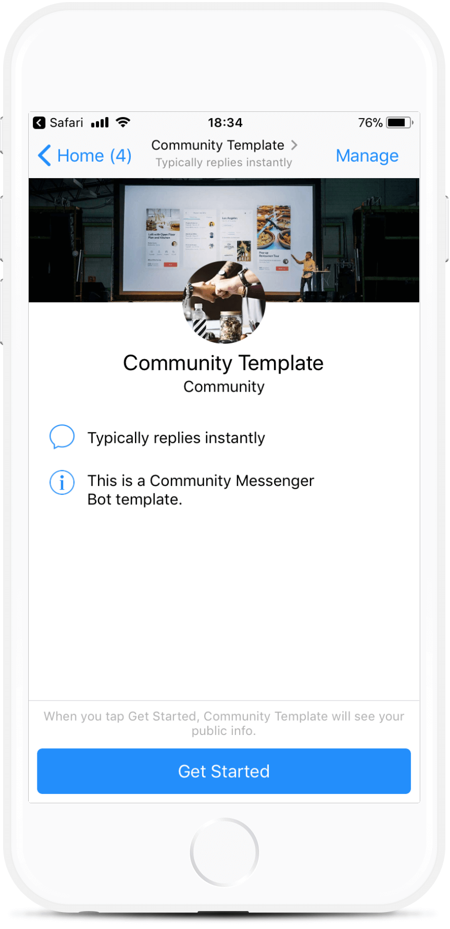 Community Messenger Bot
