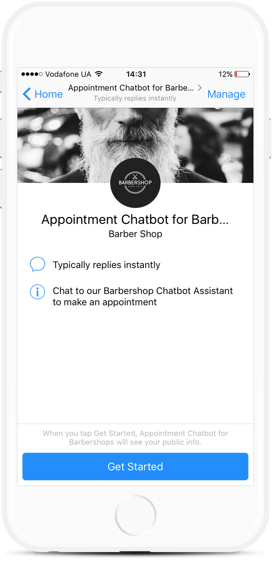 Facebook Appointment Chatbot for Barbershops