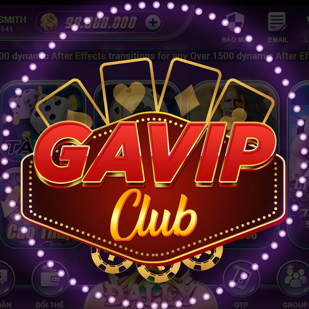 Cổng game đổi thưởng Gavip, a chatbot developer