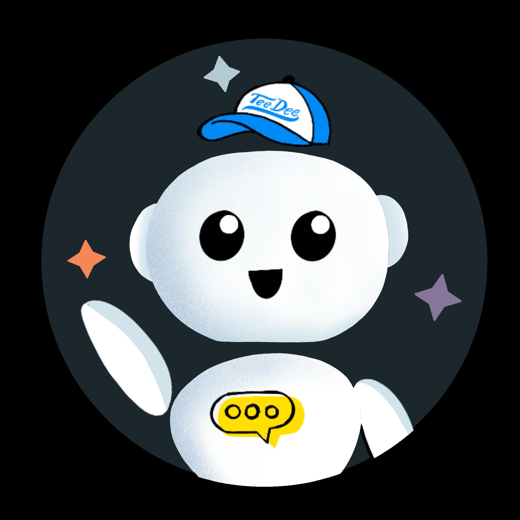 TeeDee, a chatbot developer