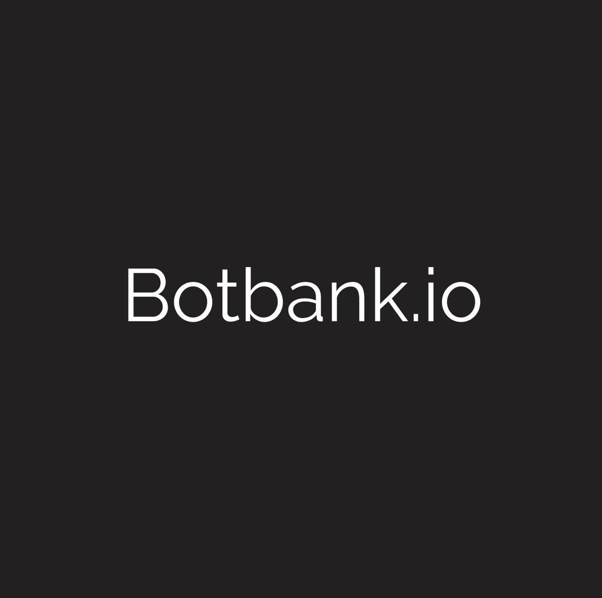 BotBank.io , a chatbot developer