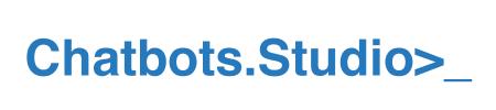 Chatbots.Studio, a chatbot developer