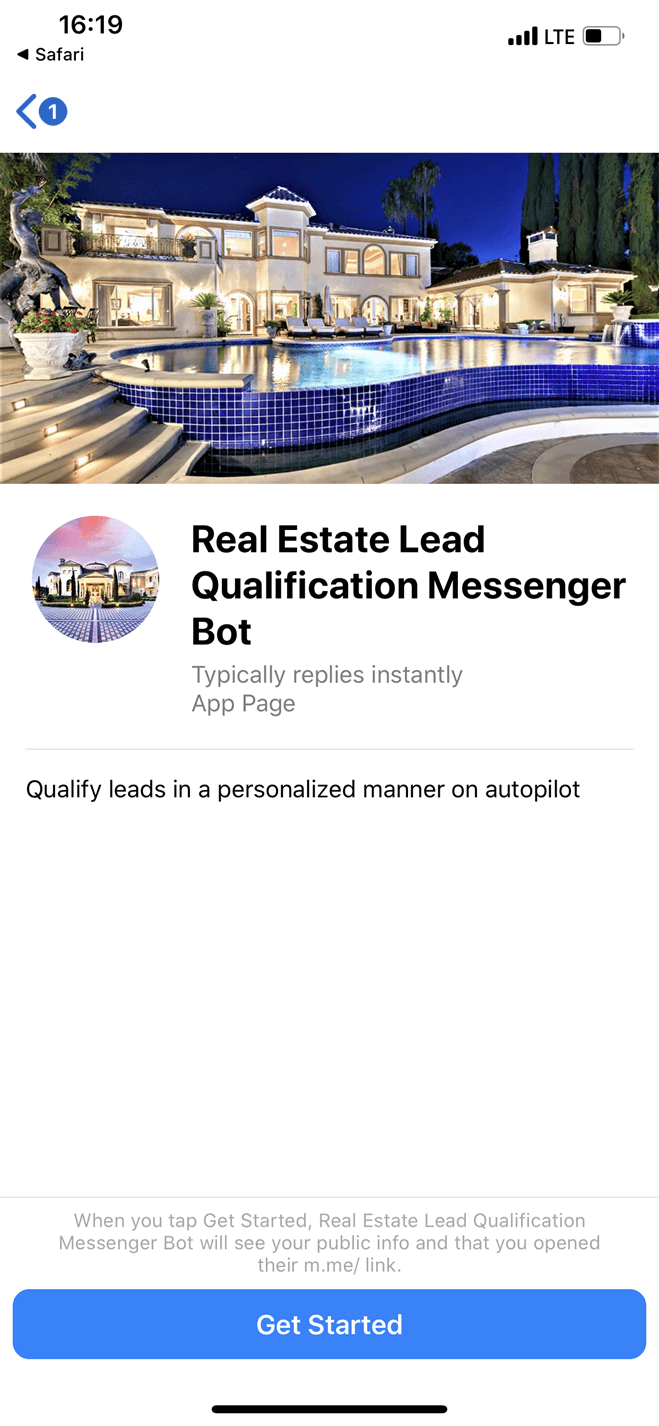 Real Estate Lead Qualification Bot
