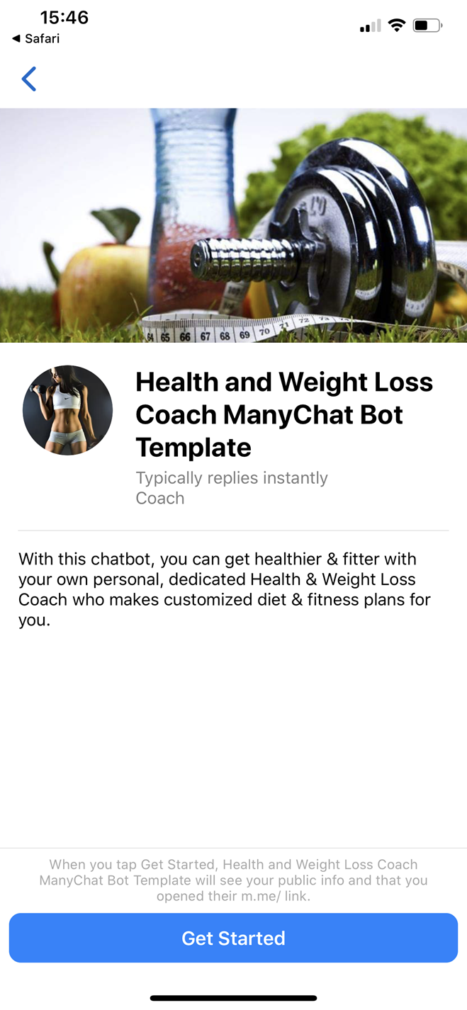 Health and Weight Loss Coach Bot
