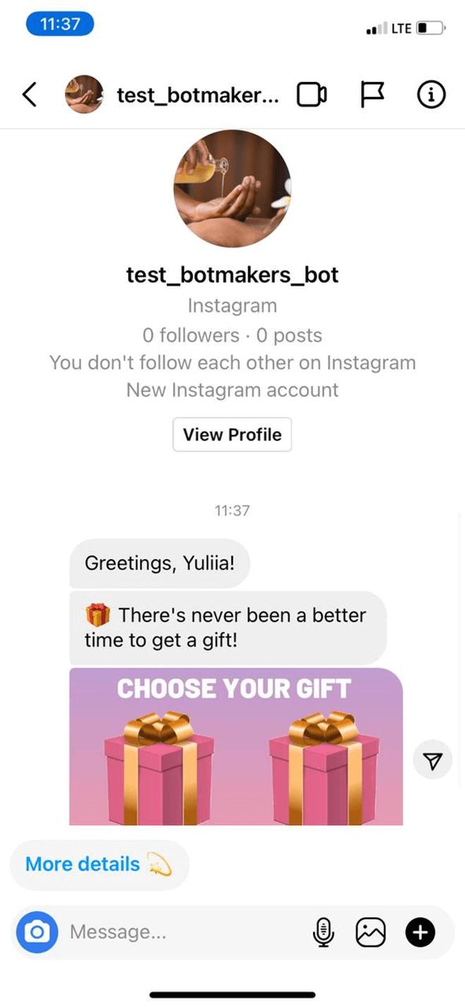 Doctor bot screenshot