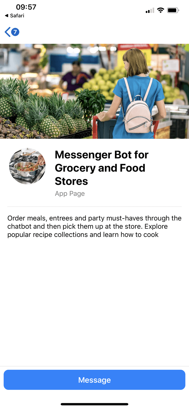Whole Foods Market bot screenshot